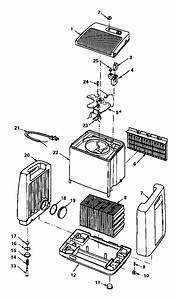 Kenmore Quiet Comfort Evap Humidifier Parts