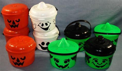 Mcdonald's Happy Meal Halloween Buckets 1986/1987