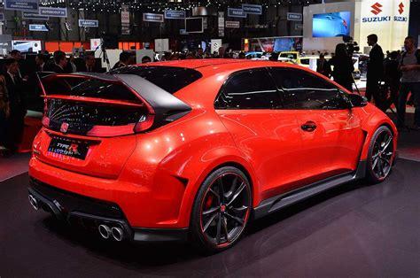 Gambar Mobil Honda Civic Type R by Honda Civic Type R Concept Di Geneva Motor Show 2014