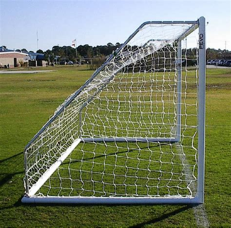 Soccer Goal For Backyard by 8 X 24 Channel Park Soccer Goal Indoor Outdoor