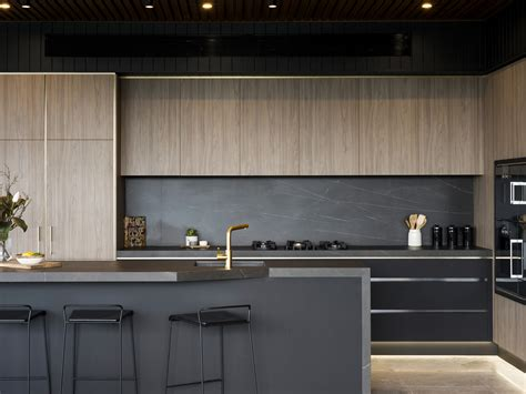 it s back to black for kitchen design architecture design