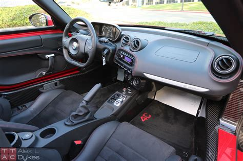 Alfa Romeo 4c Interior by 2016 Alfa Romeo 4c Spider Review With