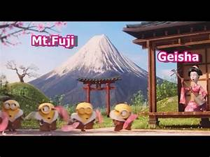 Minions English Version and Japanese Version ( Despicable ...