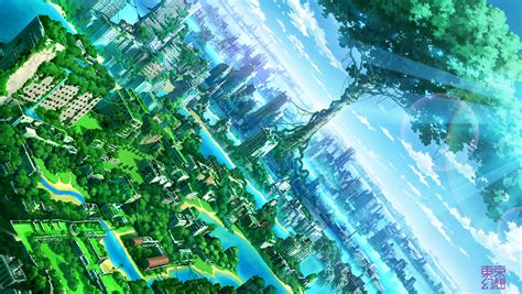 Anime Landscape Wallpaper - 11 landscape hd wallpapers backgrounds wallpaper abyss