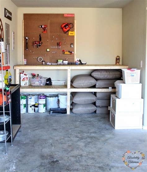 garage workbench builds
