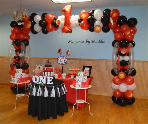 michael jordan basketball birthday party ideas photo 10