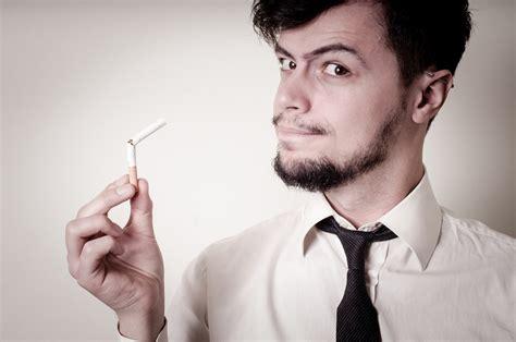 Men Smoking Cigarettes