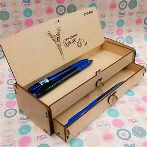 Large, Capacity, Wooden, Cool, Pencil, Case, Design, Hot, Selling