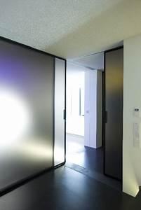 Raumteiler Aus Glas : umbau einer agentur zu einem wohngeb ude artdecoarchitect ~ Frokenaadalensverden.com Haus und Dekorationen