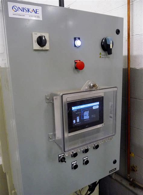 bureau de controle electrique station de traitement d 39 eau pilote pour un fabricant de