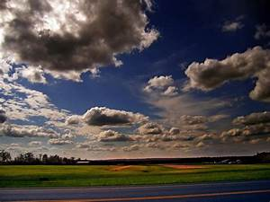 Free, Picture, Landscape, Countryside, Nature, Sky, Summer, Cloud, Field, Sun