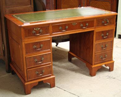 bureau ancien dessus cuir nos meubles antiquités brocante vendus