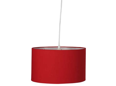 suspension small tamy coloris rouge vente de luminaire