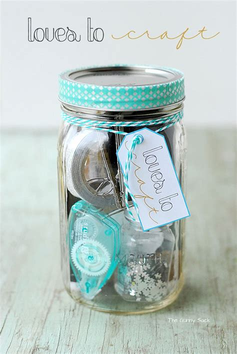 clever diy gifts   jar    special women