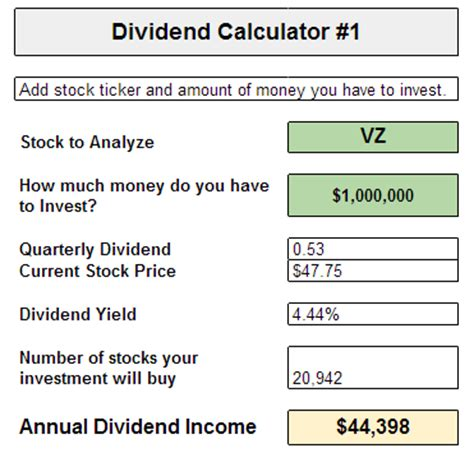 money       dividend income