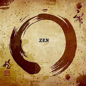 Japanese Zen Enso  No Matter How Complete Life May Seem