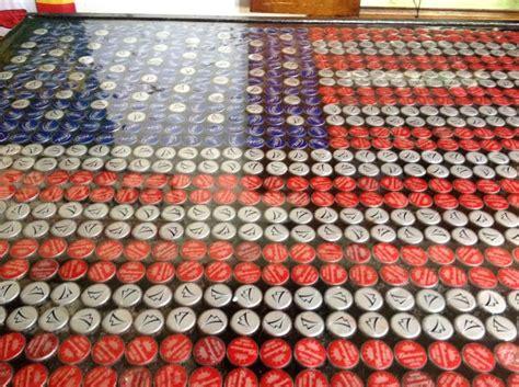 beer cap table epoxy beer cap american flag bar top epoxy bottle caps