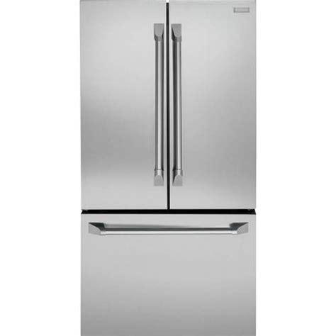 monogram  cu ft french door counter depth refrigerator stainless steel  pacific sales