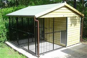 simple dog pen ideas to make your dog comfortable With building an outdoor dog kennel