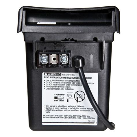 intermatic ml200rt transformer with timer 200 watt