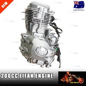 200cc Lifan Engine Motor 4 Honda Cb125 Crf150 Crf230 Xl200