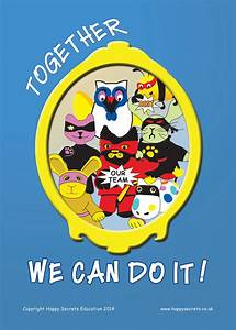 Motivational Poster - Together We Can Do It