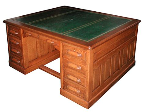 partners desk for sale fantastic american oak partners desk c 1885 for sale