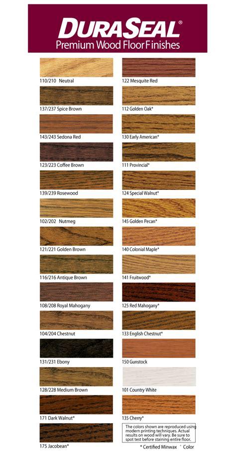 duraseal colors custom stain colors from gerber hardwood flooring