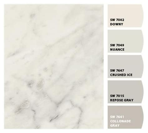 best paint color for carrara marble 77 best images about sherwin williams chip it matches on pinterest cherries colors and ash