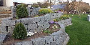 Steine Für Trockenmauer : trockenmauer aus granit warenhandel haage ~ Michelbontemps.com Haus und Dekorationen