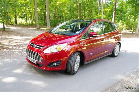 ford c max energi in hybrid la volanul unui ford c max energi in hybrid nwradu