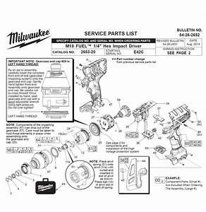 Milwaukee 2653