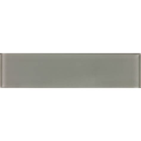 shop allen roth smoke glass wall tile common 3 in x 12