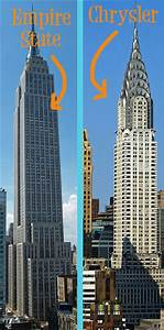 Sam Bock Illustration & Design: Empire State vs. Chrysler ...