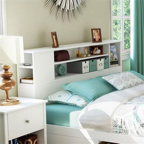 Bookcase Headboard Bed by Breakwater Bookcase Headboard In White