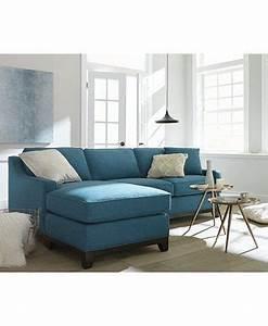 Keegan fabric 2 piece sectional sofa macyscom for Keegan fabric 2 piece sectional sofa peacock