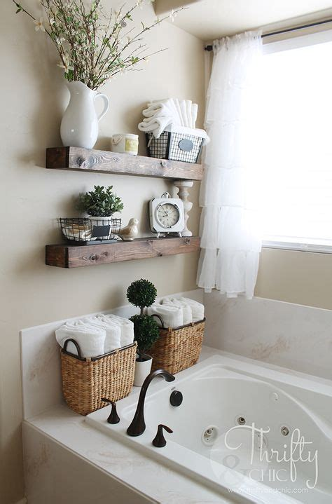 Decorating Ideas For A Bathroom Shelf by The 25 Best Bathroom Shelves Ideas On Half