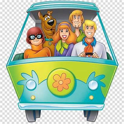 Scooby Doo Mystery Machine Clip Gang Cartoon