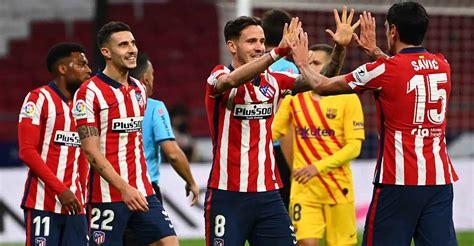 La Liga: Atletico Madrid beat Barca, end 10-year wait ...
