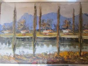 Morris Katz Beautiful Landscape Art 1971