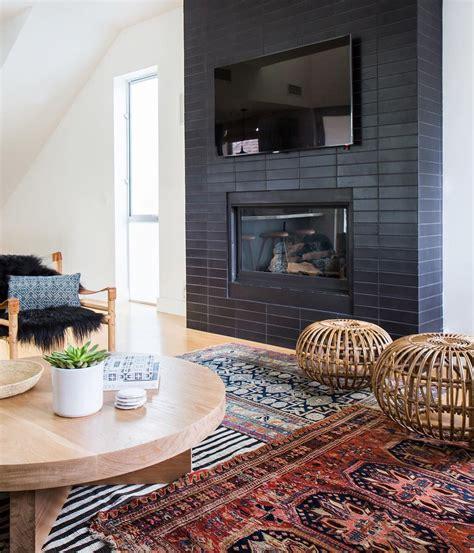 heath tile  fireplace design  amber interiors photo