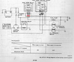 1978 Z - Fuel Pump Control Relay - Fuel Injection