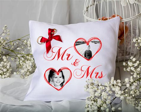 personalised wedding ring pillow ideas