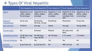 types of viral hepatitis viral hepatitis a viral hepatitis b  Hepatitis Infections