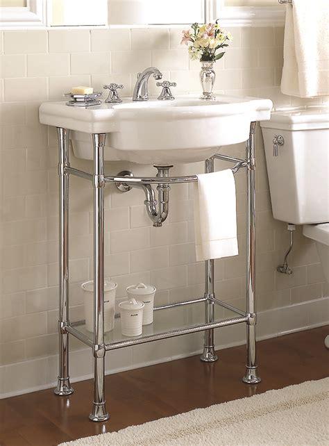 bathroom console sink  unique  standing sink