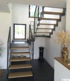 fabricant escalier deux quarts tournant en bretagne vannes rennes villa