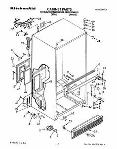 Kitchenaid Refrigerator Kbrs22kwal03 User Guide