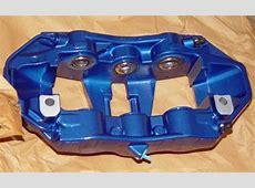 BMW OEM E70 E71 F15 X5 M X6 M Blue Brembo Front Brake Kit