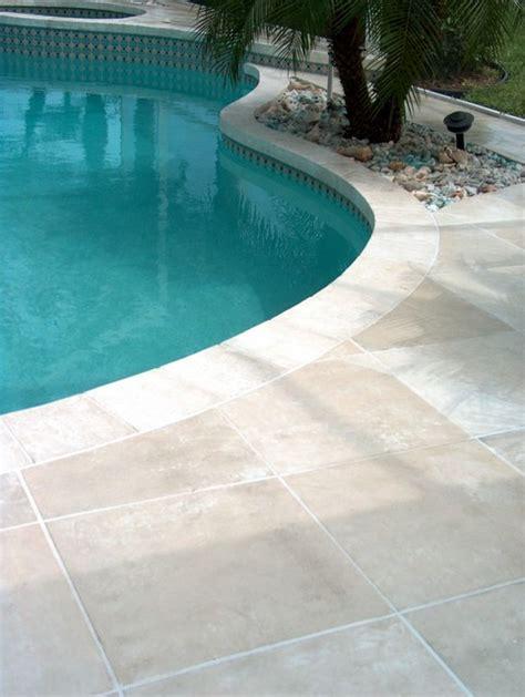 travertine pool deck melbourne tropical pool orlando