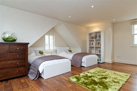 Ideas For A Dormer Bedroom by Side Dormer Loft Conversion Contemporary